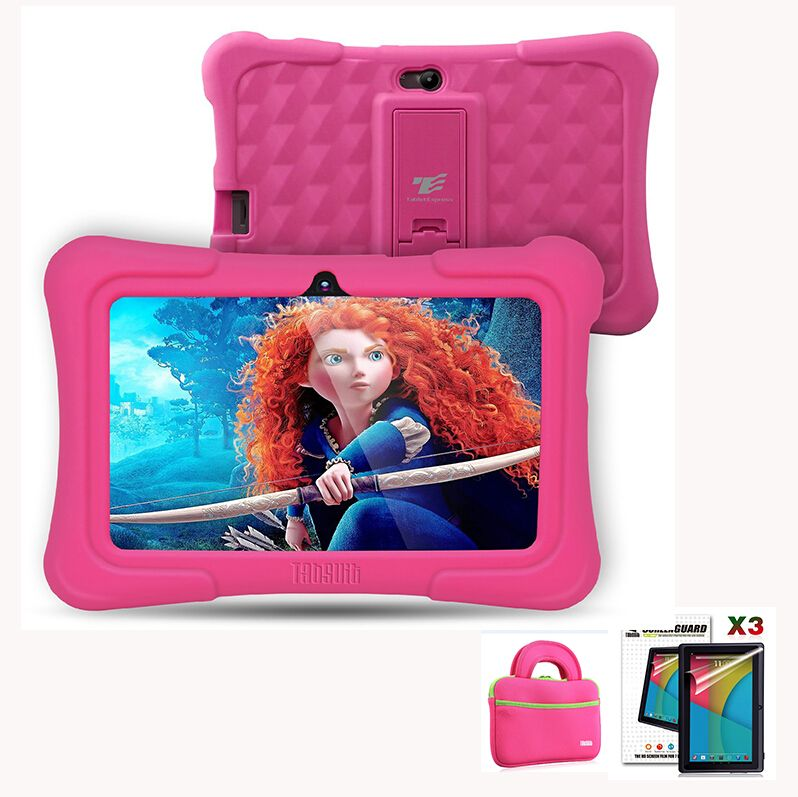 DragonTouch Y88X Plus 7 pouces Enfants Tablet Meilleurs cadeaux De Noël pour enfants pcs Quad Core Android 5.1 + Tablet sac + écran Protecteur