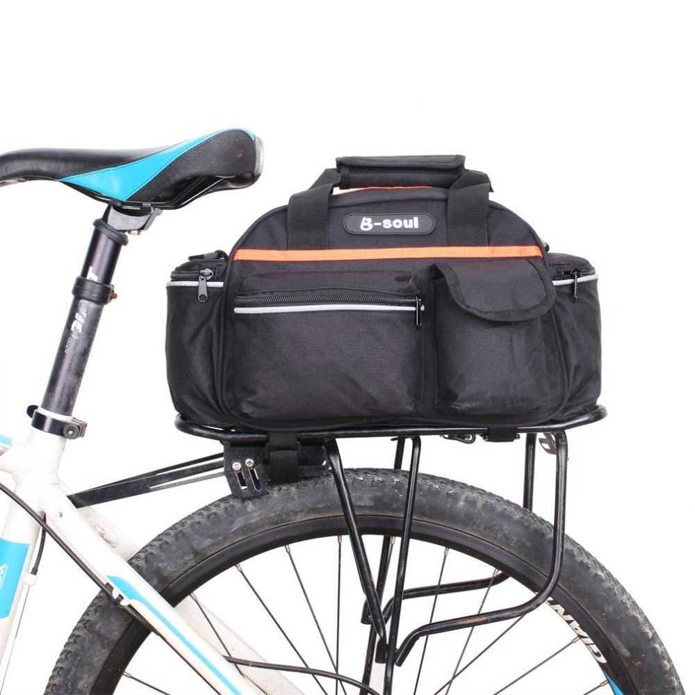 Große Kapazität MTB Mountainbike Rack Tasche Multifunktionale Straße Fahrrad Pannier Rear Seat Trunk Bag Handtasche Radfahren Zubehör