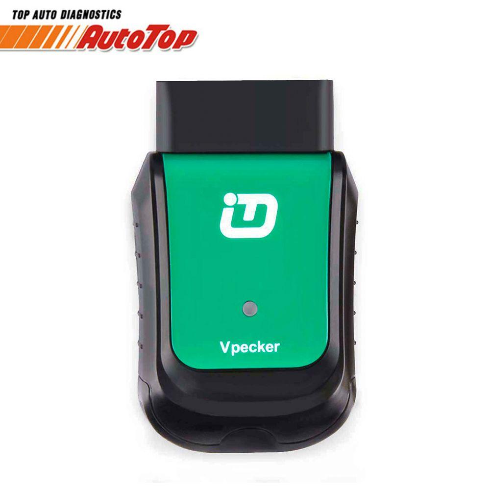 2018 Vpecker Easydiag V10.6 OBD2 Wifi Automotive Scanner Full System Diagnostic Scanner OBD 2 Autoscanner Car Diagnostic Tool
