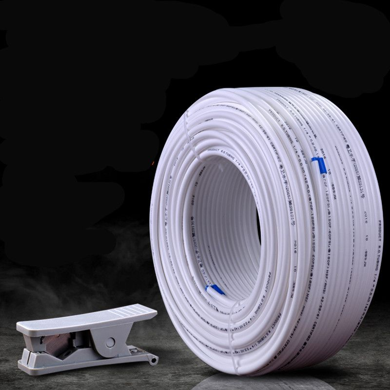 100m water tube 1/4 quick hose Pipe For RO Water Filter System Aquarium PE Reverse Osmosis 1/4 inch