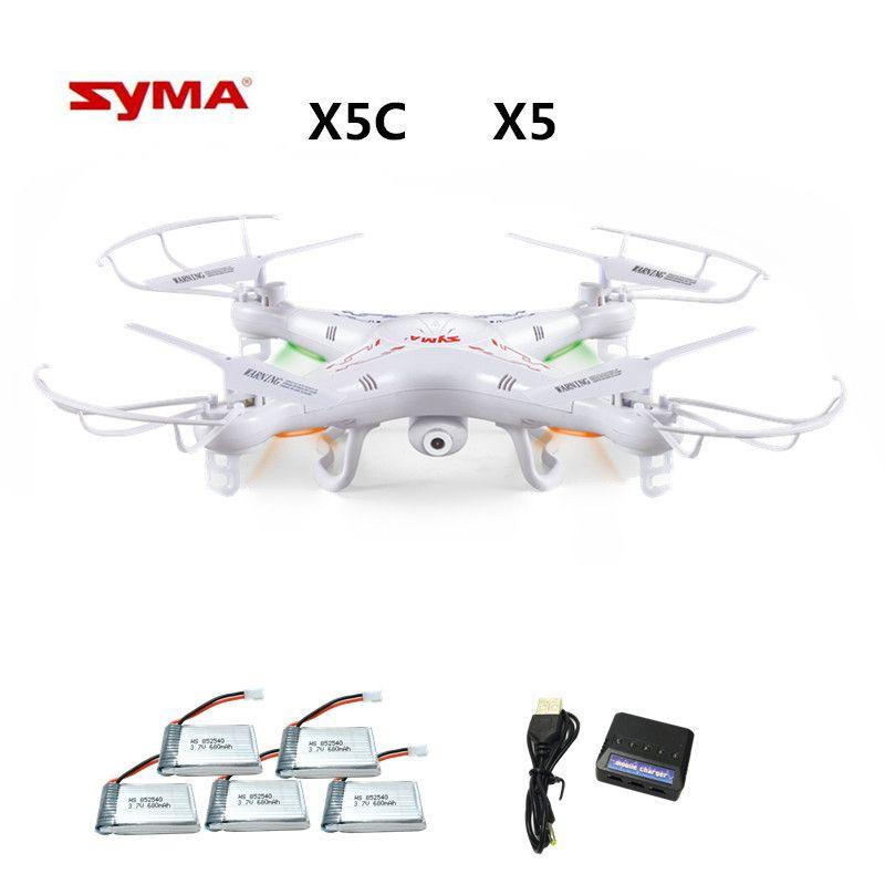 Syma X5C X5C-1 ( Drone With 2.0MP Camera ) RC Drone Quadcopter or Syma x5 x5-1 (No Camera) 2.4G 4CH Dron RC Quadcopter toy