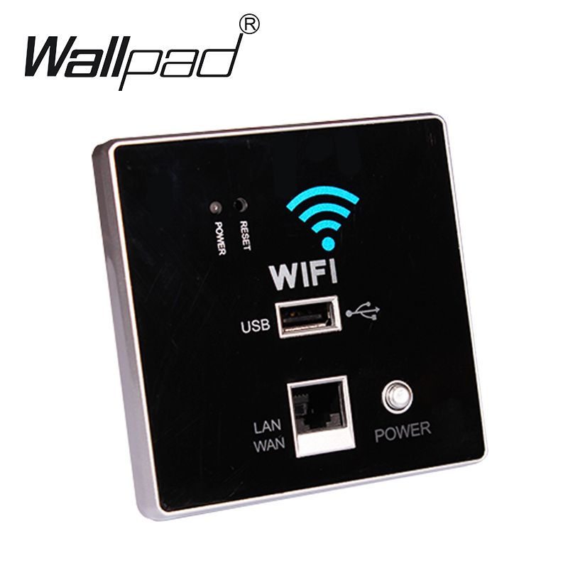 USB Socket Wall Embedded Wireless AP Router Phone Wall Charger, WIFI USB Charging Socket Panel, WiFi Socket Free Shipping