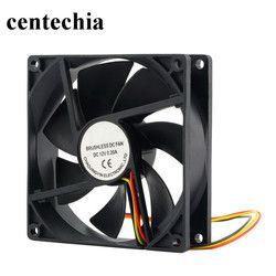 Centechia 12 V 3 Broches 90*90*25mm De Refroidissement Ventilateur pour Boîtier De L'ordinateur CPU Cooler Radiateur Haute qualité