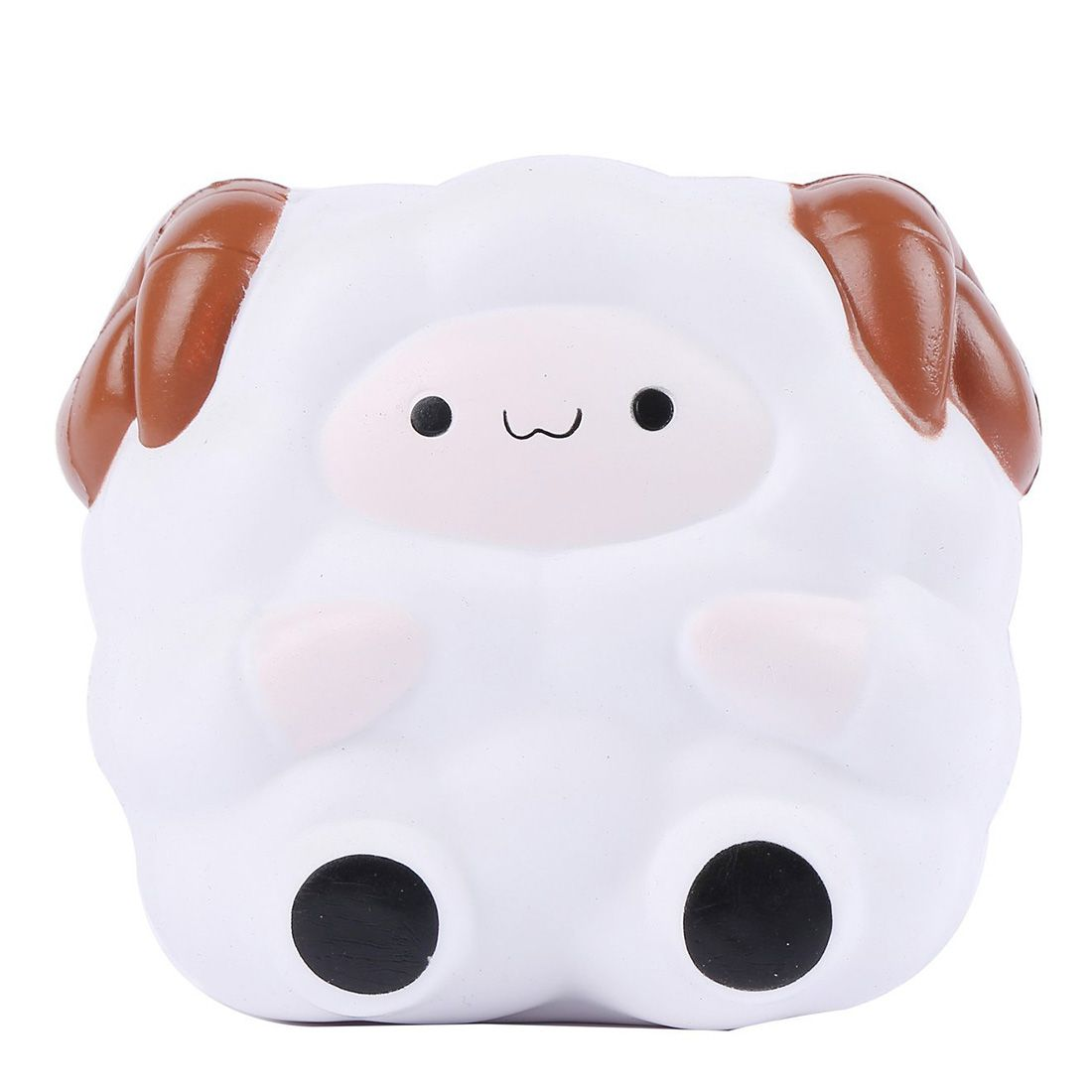 Jumbo 13.5CM Cartoon Big Sheep Squishy Slow Rising Squeeze Stress Reliever Toy Phone Strap DIY Decor Birthday Christmas Gift P15