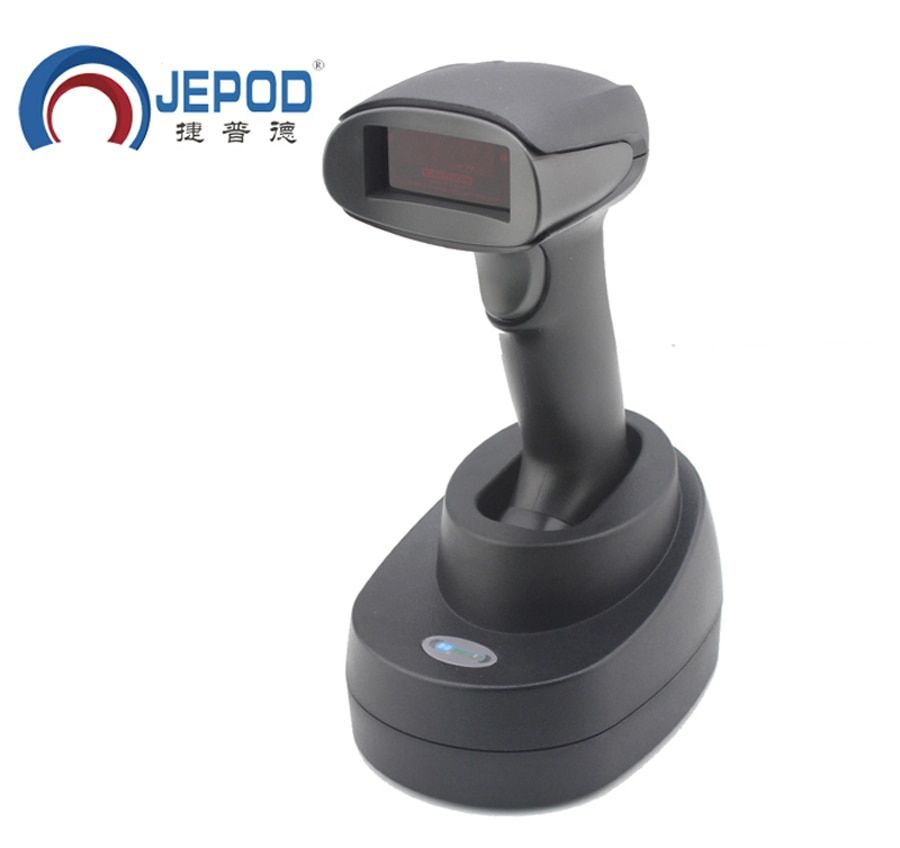 JP-A2S JEPOD Wireless Barcode Scanner USB wireless barcode reader wireless laser barcode reader scanner
