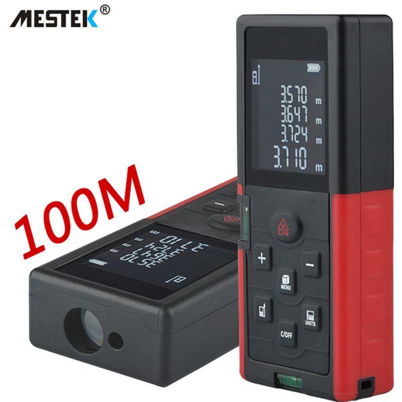 MESTEK Palette Finder 40 mt 60 mt 100 m Laser-distanzmessgerät Entfernungsmesser Medidor Trena Laser Level Maßband Laser meter Herrscher