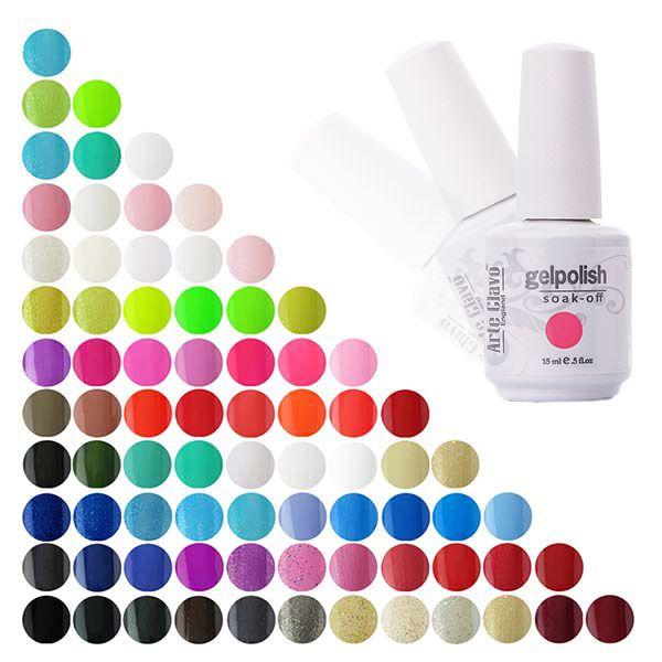 Специальная цена 15 мл ARTE Clavo любой Цвет Гели для ногтей оптом uv гель Top Основа для ногтей Лаки для ногтей оптовая продажа