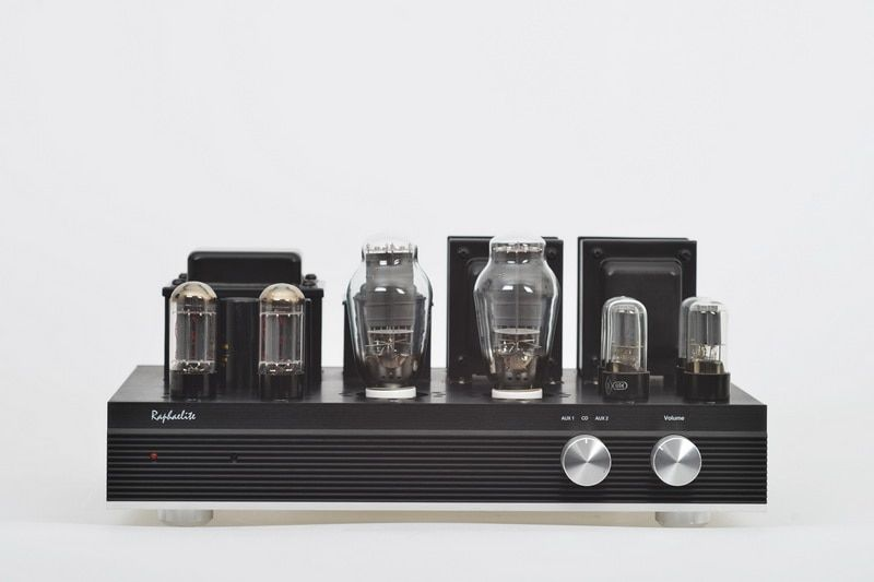 Raphaelite ES30 300B Rohr Amp HIFI EXQUIS Single-ended Integrierte Lampe Verstärker mit Fernbedienung