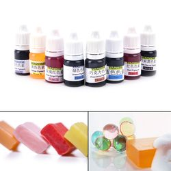 8 Colors 5ml Handmade Soap DYE Pigments Colorant Toolkit Materials Hand Made Soap Base Colour Liquid Pigment