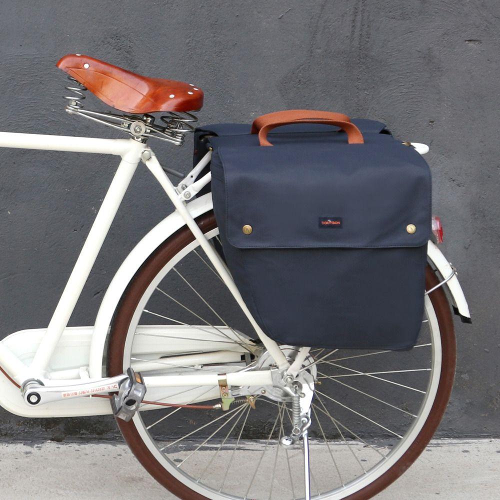Tourbon Fahrrad Rear Seat Taschen Rack Stamm Rucksack Gepäck Zubehör Fahrrad Pannier Wasserdicht Zwei Taschen 23L