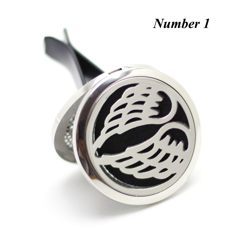 New Arrival Car Diffuser Locket (38mm) Magnetics Diffuser 316 Stainless Steel Perfume Lockets Car Aromatherapy Diffuser Lockets