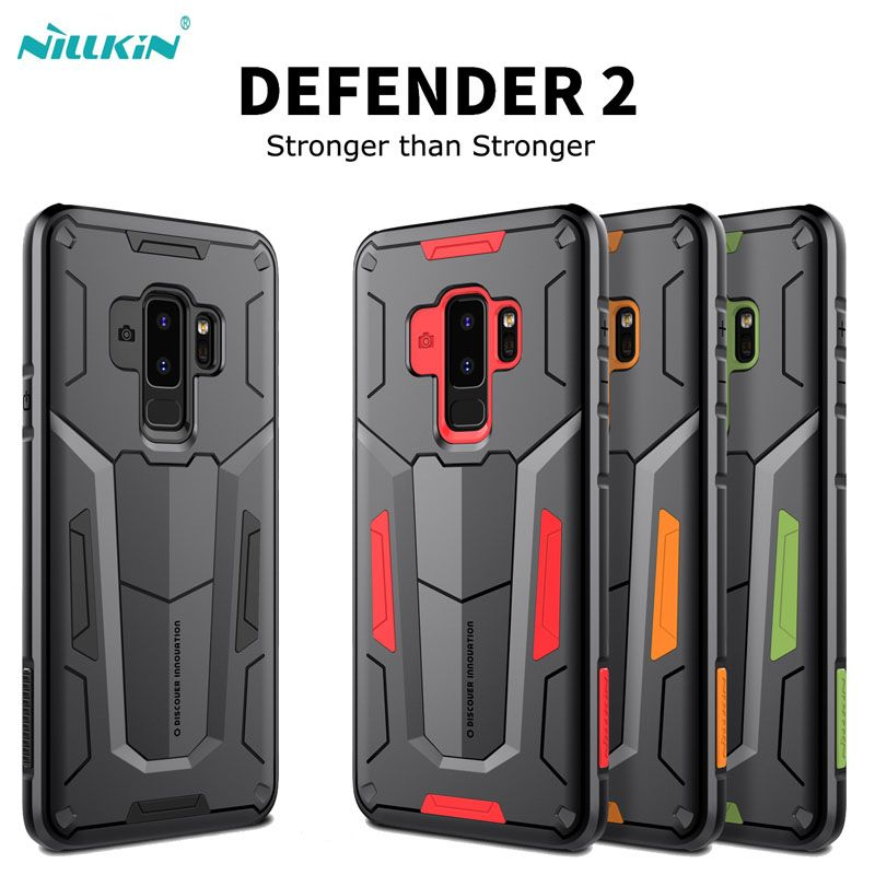 For Samsung galaxy S9 S9 Plus Note 9 phone case Original Nillkin Defender 2-in-1 Tough Armor Back Cover For Galaxy S9 Note9
