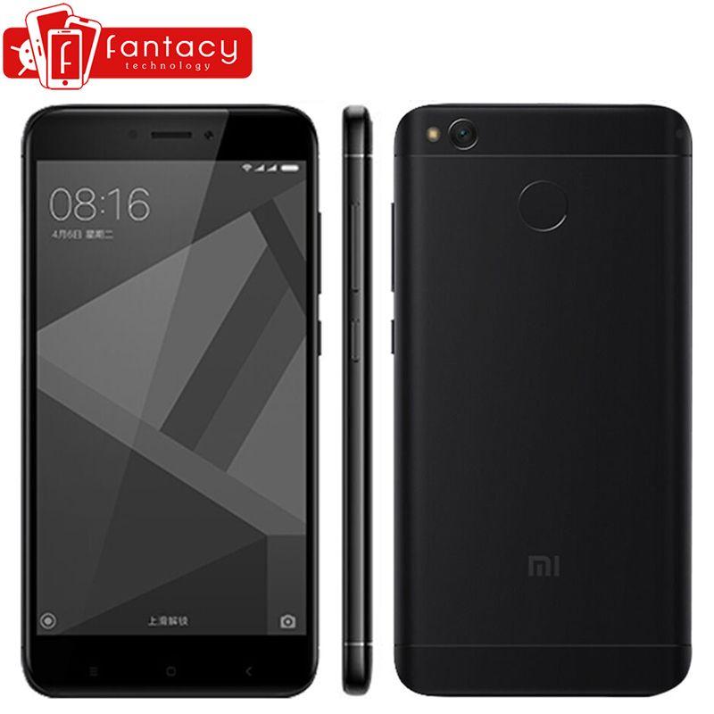 Global Version Xiaomi Redmi 4X 3GB 32GB Smartphone Snapdragon 435 Fingerprint ID FDD LTE 4G 5