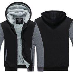 Dropshipping Wholesale low price Zipper Sweatshirts Hoodies Jackets Men and Women EU US sizes Winter Thicken Hooded Coat