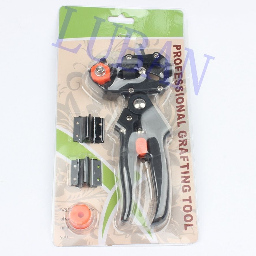 LUBAN Grafting machine Garden Tools with 2 Blades Tree Grafting Tools Secateurs Scissors grafting tool Cutting Pruner jt001