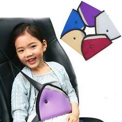 Nouveau Triangle Bébé Enfants Car Safe Fit Ceinture de sécurité Ajusteur Dispositif Auto Couverture de Ceinture de Sécurité Enfant Cou Protection Positionneur Respirant
