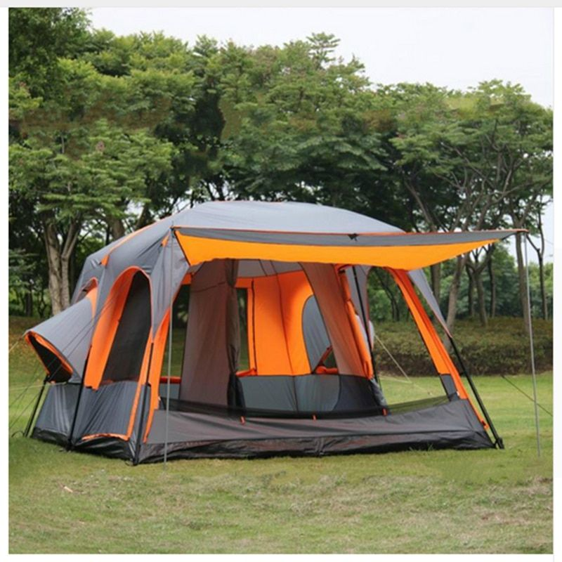 Waterproof Party Family Tent 6 8 10 12 Outdoor Camping Tent Sun Shelter Party Family Hiking Camping Tent