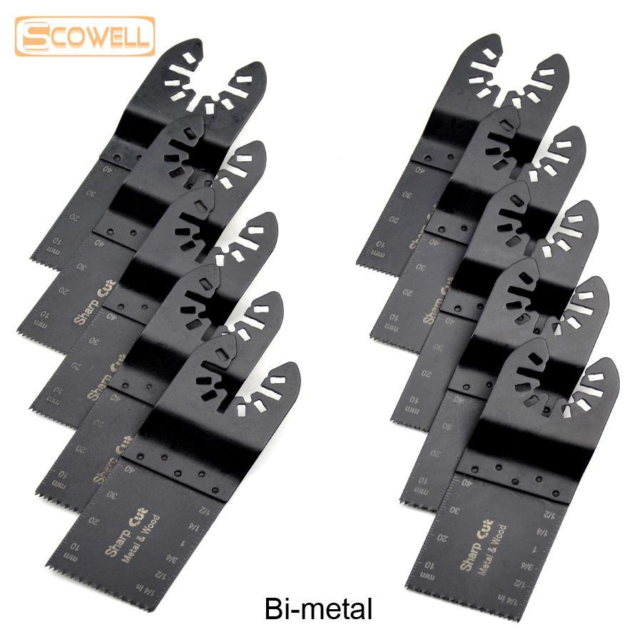 30% Off bi-métal 34mm outils oscillants universels lames de scie accessoires adaptés aux outils électriques Multimaster scie à ruban multi-outils