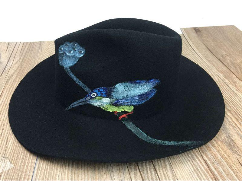 Модные женские зимние шерсти животных задыхаясь береты warmmer шляпы