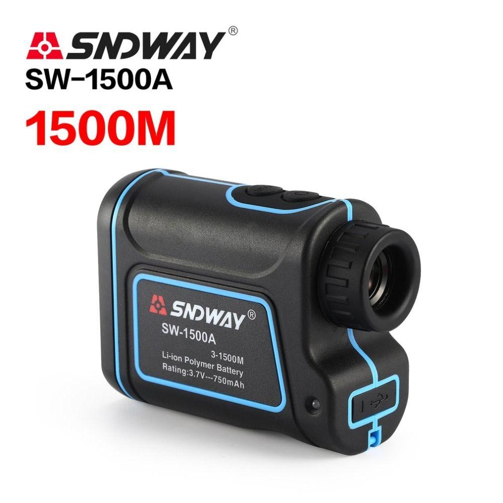 SNDWAY SW-1500A Monokulare Teleskop Laser-entfernungsmesser 1500 mt Trena Laser Abstand Meter Golf Jagd laser Range Finder