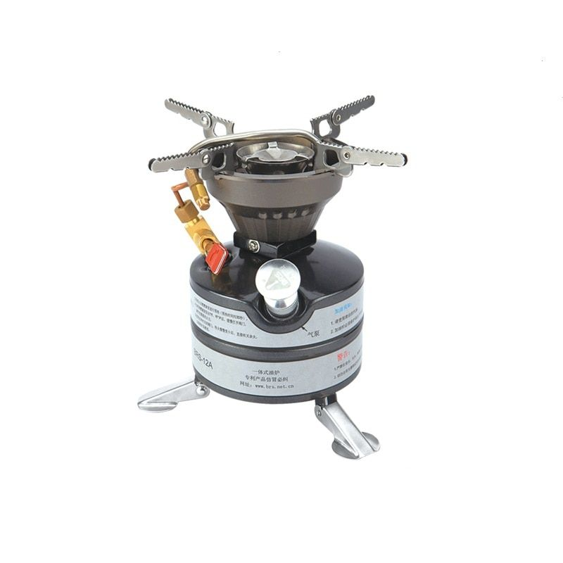 BRS-12A Firepower Portable Folded Camping Equipment Oil Gas Titanium Outdoor Cookware Camping Stove