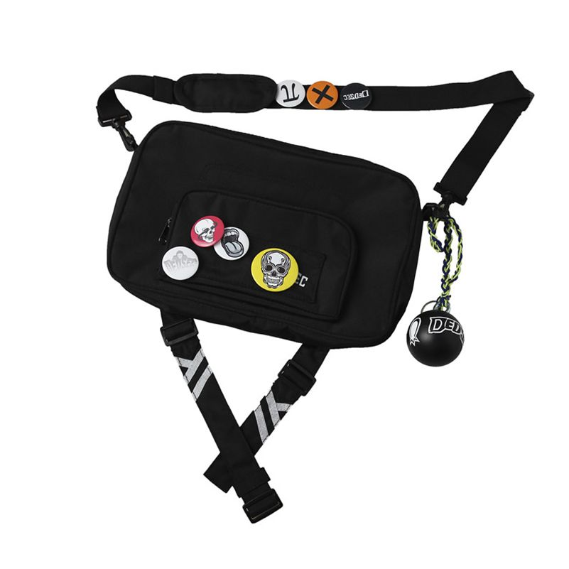 Watch Dogs 2 Marcus Holloway Cosplay Bag Cosplay Costume Accessory Props Shoulder Bag With Badges And Ball Adult Unisex Bag Only