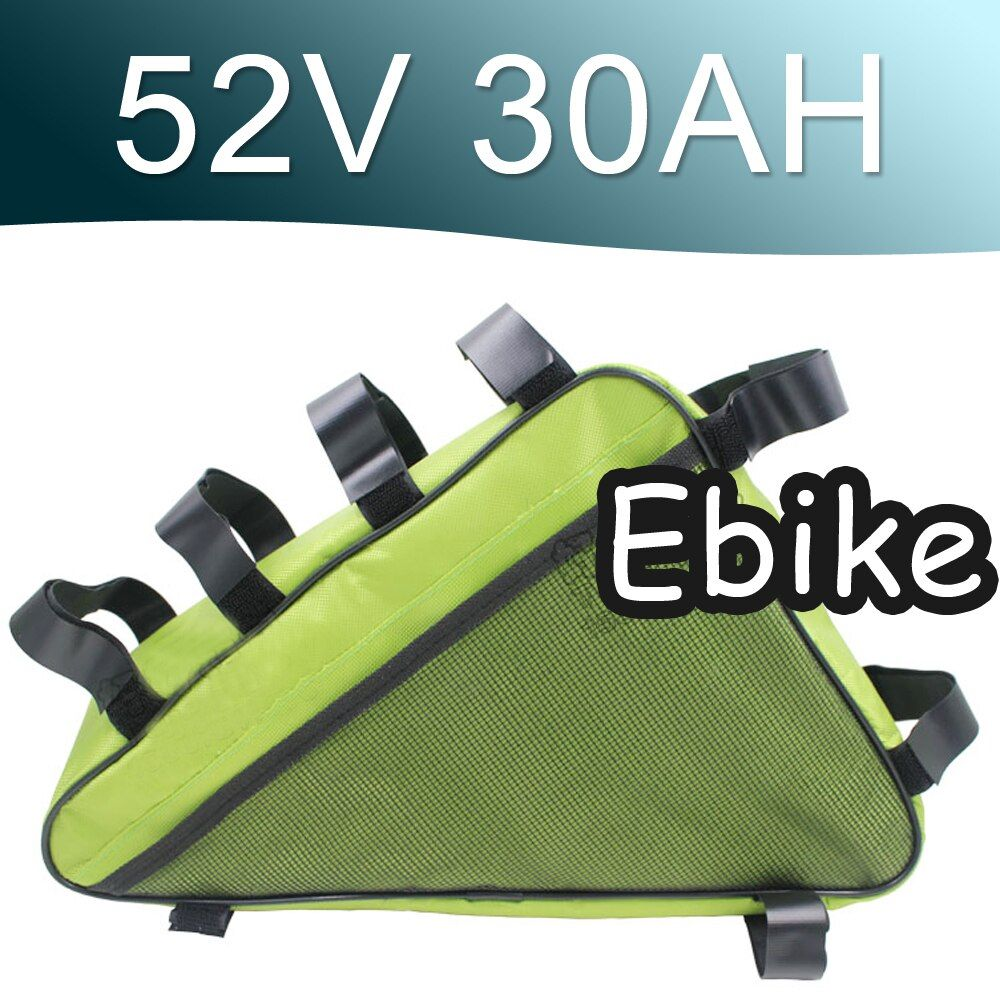 52V 30AH Triangle Lithium ion Battery Pack Long life cycle Super Power