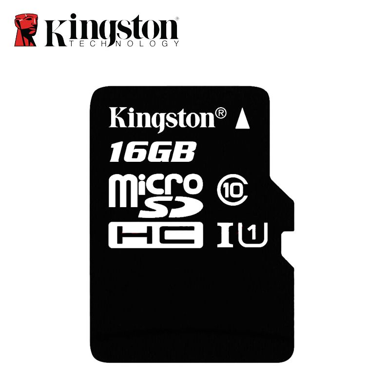 Carte mémoire Kingston Micro SD 16 go carte mémoire Mini carte sd SDHC/SDXC TF Flash 16 go UHS-I pour GPS de voiture et Smartphone