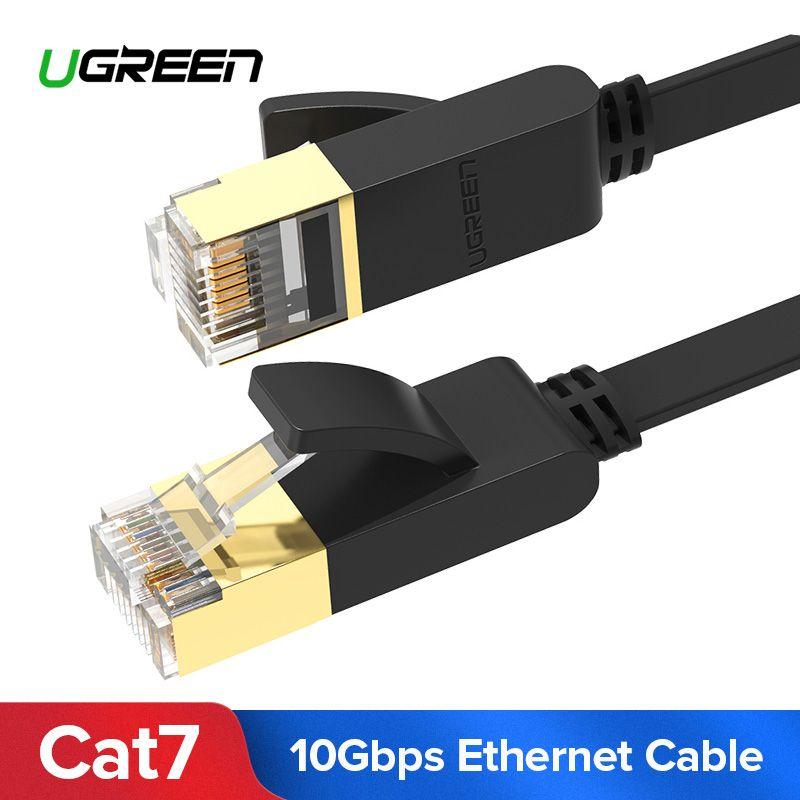 Ugreen Ethernet Kabel RJ45 Cat7 Lan Kabel UTP RJ 45 Netzwerk Kabel für Cat6 Kompatibel Patchkabel für Modem Router kabel Ethernet