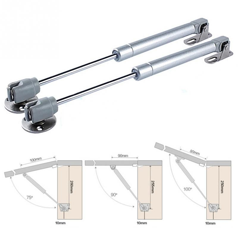 2017 New Practical Furniture Hinge Kitchen Cabinet Door Lift Pneumatic Support Hydraulic Gas Spring Stay Hold Pneumatic hardware