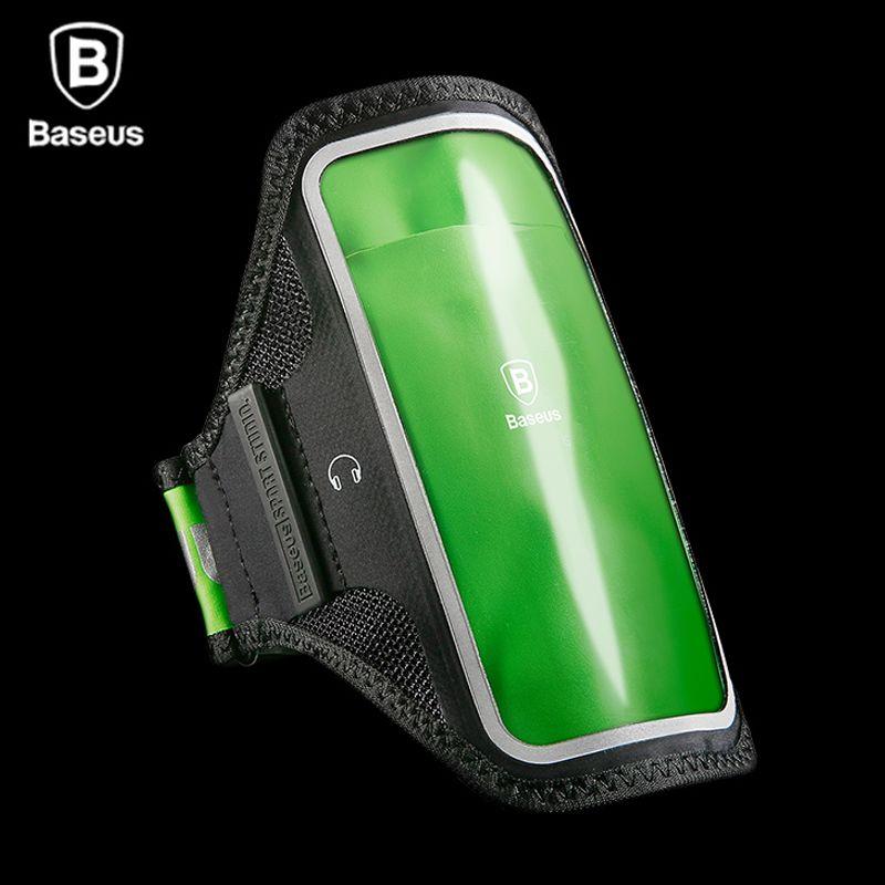 Baseus Cas Brassard Pour iPhone 7 6 6 s Plus Sport Courir Cas sur Main Pour Samsung S8 Plus Xiaomi Téléphone Brassard Sac Cas