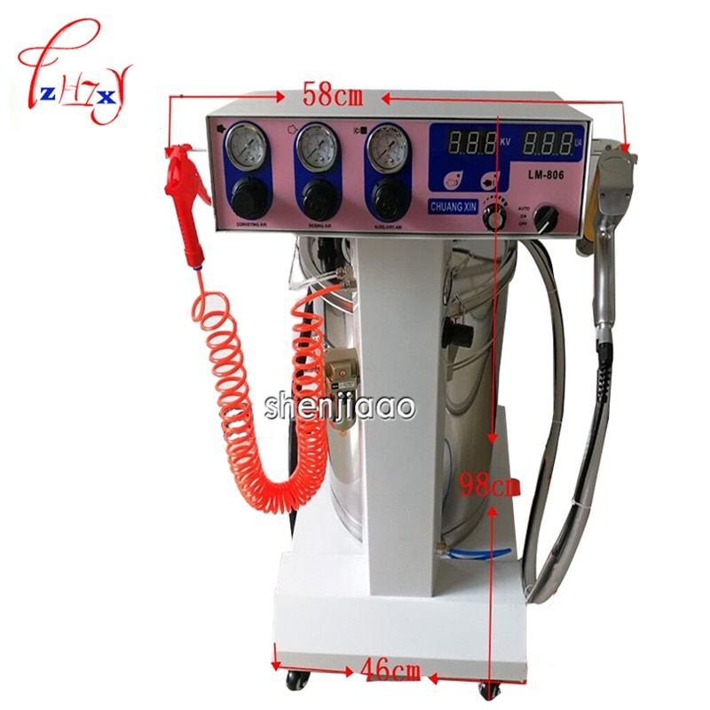 Electrostatic Spraying Dust / High Pressure Spraying Machine / Spraying Machine LM-806 Paint Gun Coating Machine 1pc