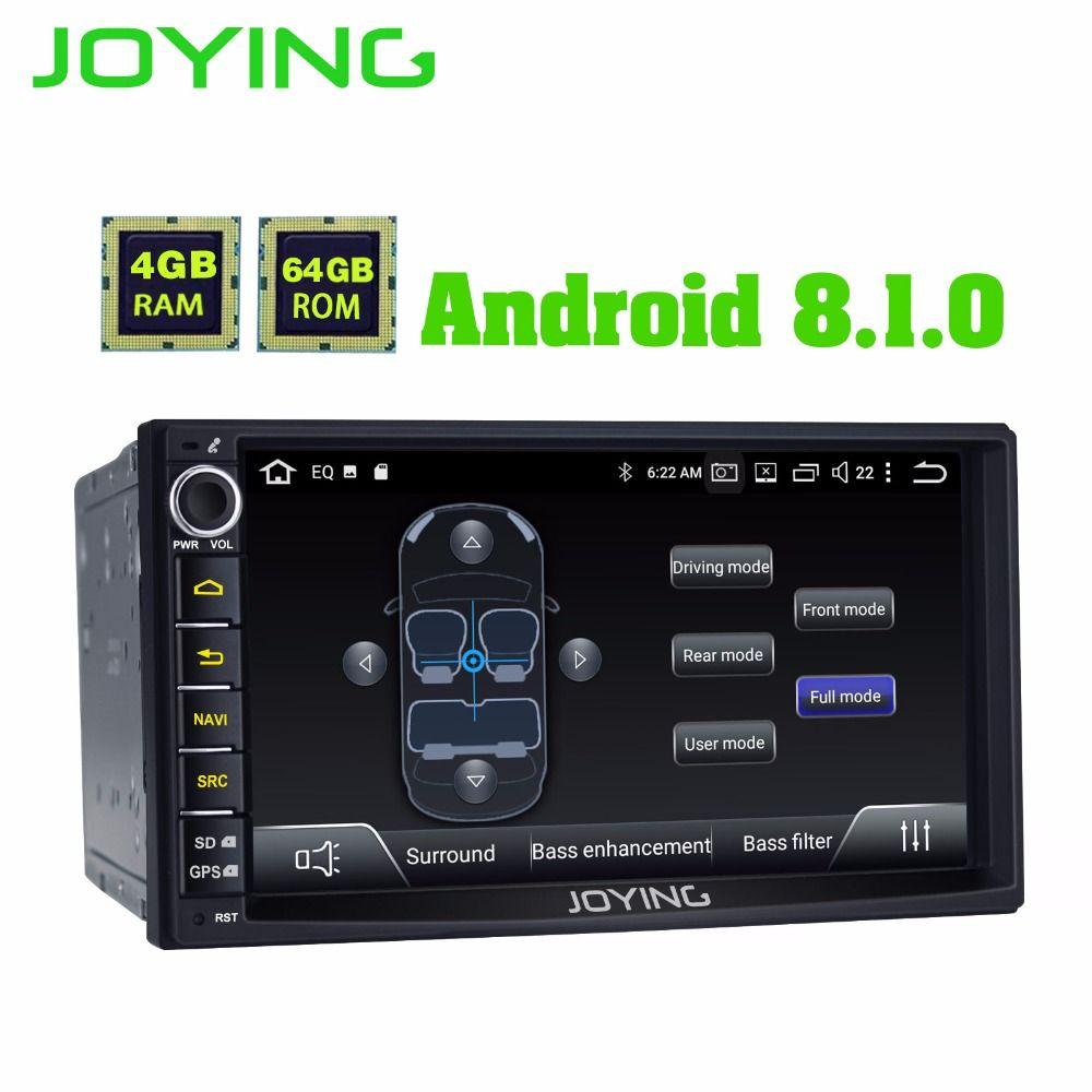 Neue Produkt Doppel 2Din 4 GB + 64 GB Kopf Einheit Android Universal Auto Radio Stereo Multimedia Keine DVD-Musik player Mit Gebaut in DSP