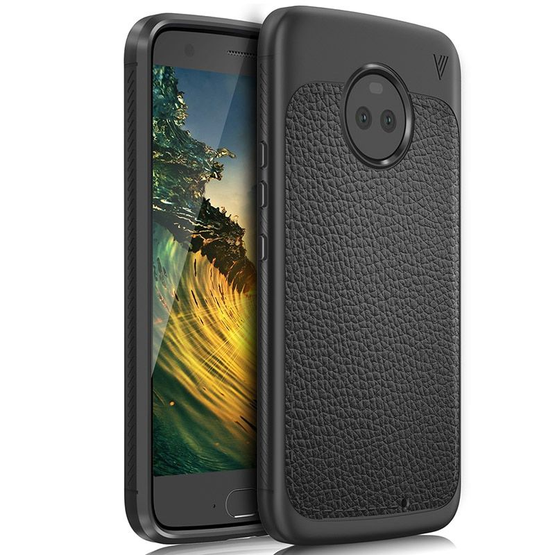 Lenuo Case for Motorola Moto X4 Cover Good Heat Dissipation Anti-Scratches Soft TPU Back Cover for Moto X4 Case Phone Shell