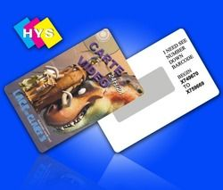 High quality Plastic scratch-off card and business card or white card  Supply