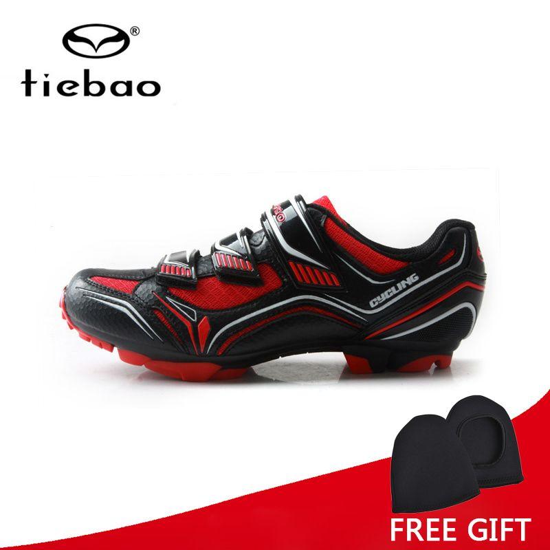 Tiebao Professionelle Radfahren Schuhe Atmungs Mtb Schuhe Auto-Lock Sportlich Racing Fahrrad Schuhe Turnschuhe Sapatilha Ciclismo