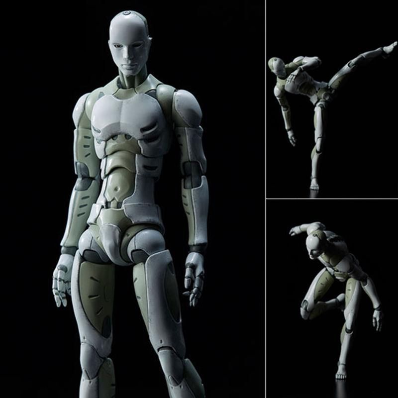 28cm Heavy Industries Synthetic Human 1/6 Scale Action Figure Collectible Model Toy