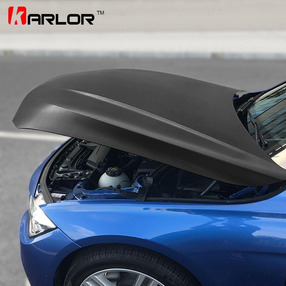 152cm*200cm 4D Carbon Fiber Vinyl Film Car Styling Wrapping Sheet Roll Film Automobiles DIY Car Hood Roof Stickers Accessories