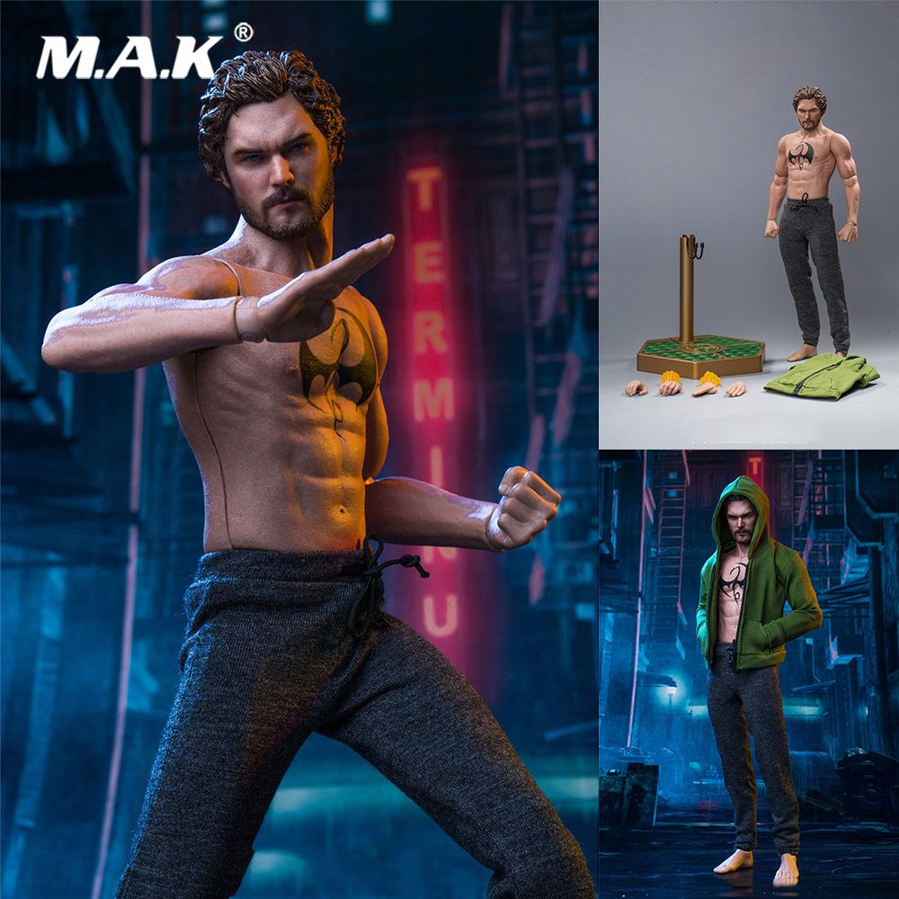 1/6 Scale Collectible Full Set SST-008 Iron Fist Danny Rand Movie Series Figure Model for Fans Collection Gift