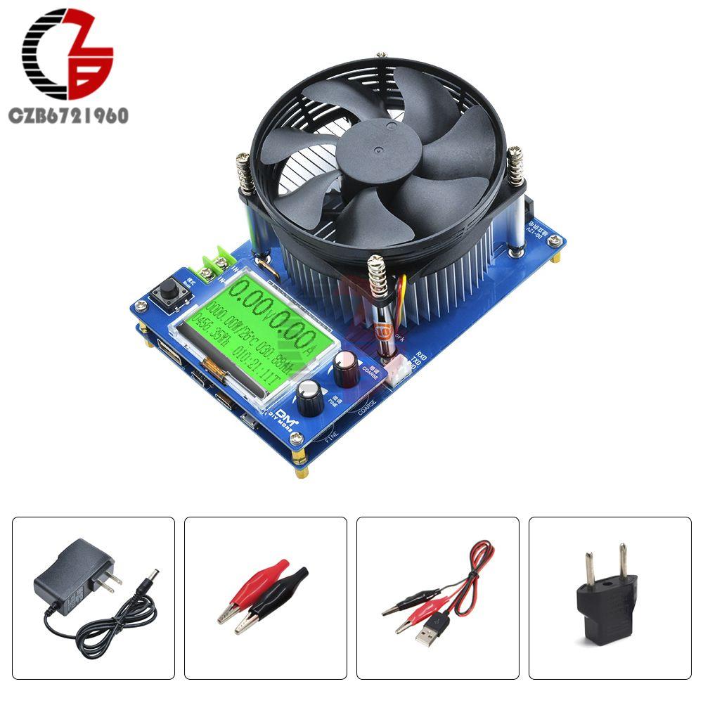 150 V 10A 150 W LCD numérique réglable courant Constant testeur de batterie de charge électronique compteur de tension de capacité de décharge au Lithium