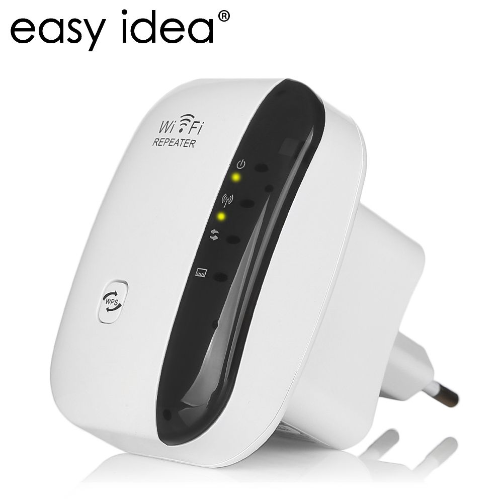 Wireless Wifi Repeater 300Mbps 802.11n/b/g Network Wifi Extender Signal <font><b>Amplifier</b></font> Internet Antenna Signal Booster Repetidor Wifi