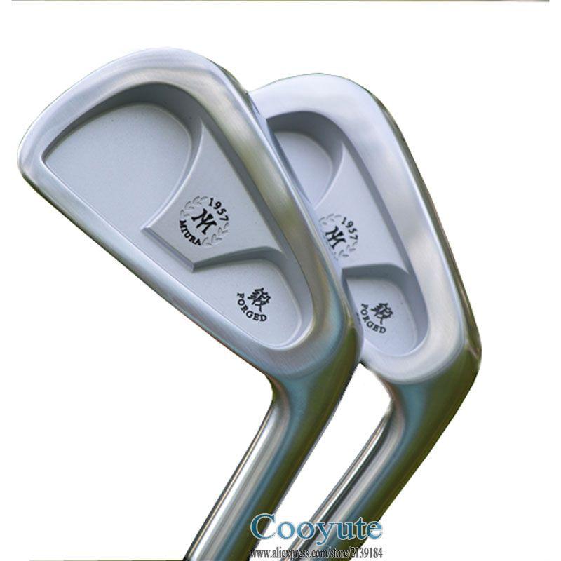 New Cooyute Golf irons set Miura CB57 1957 Souve Golf Clubs set 4-9P Clubs Set Project X 55 Steel Golf shaft Flex Free shipping