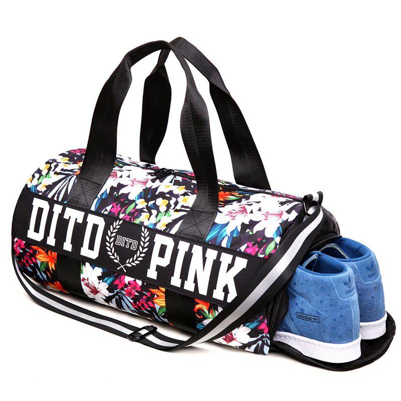 Professional Fitness Shoulder Gym Bag for shoes Waterproof Portable Training bag men women Travel handbag Yoga sac de sport bags