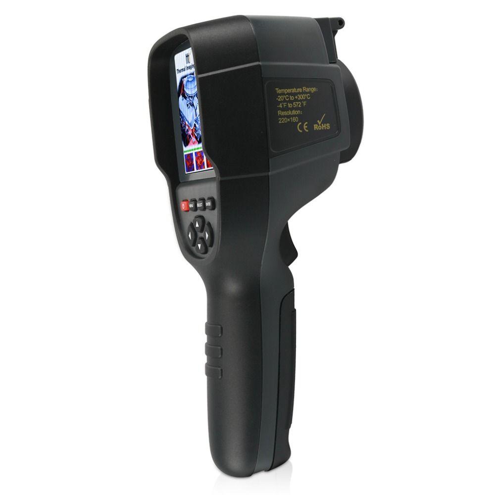 HT-18 Handheld IR Digital Thermal Imager Detector Camera Infrared Temperature Heat Thermal Imaging Camera