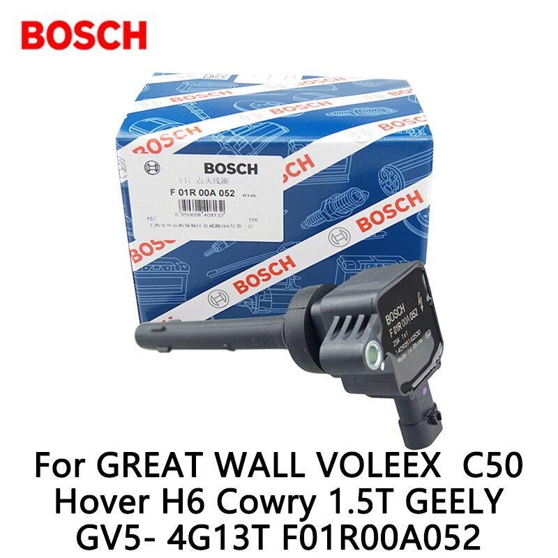 Bosch Ignition Coil For GREAT WALL VOLEEX  C50 Hover H6 Cowry 1.5T GEELY GV5- 4G13T F01R00A052
