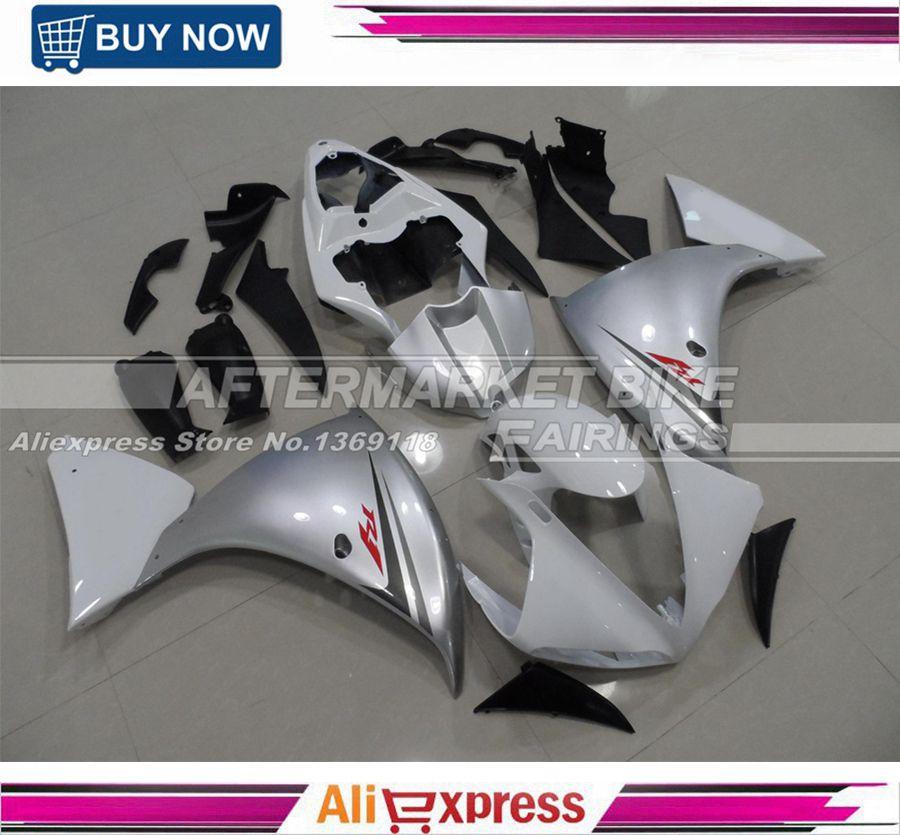 100% einfache Installation Einspritzung-verkleidung Body Für Yamaha 2009-2011 R1 ABS Motorrad Verkleidungen YZF R1 09 2010 11 karosserie Kit
