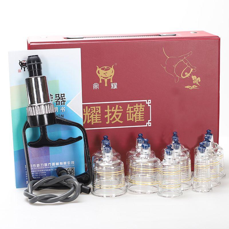 Saugnäpfe massage Schröpfen gläser Akupunktur Vakuum Schröpfen Set jar kunststoff vakuum therapie Massager ventosa schröpfen sucker