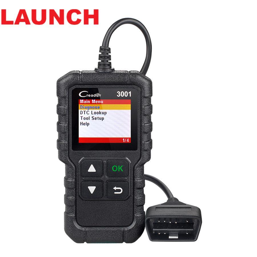 Lancement X431 CR3001 complet OBD2 Autoscanner lecteur de Code Odb2 OBD 2 voiture Scanner outil de Diagnostic multi-langue Creader PK AD310