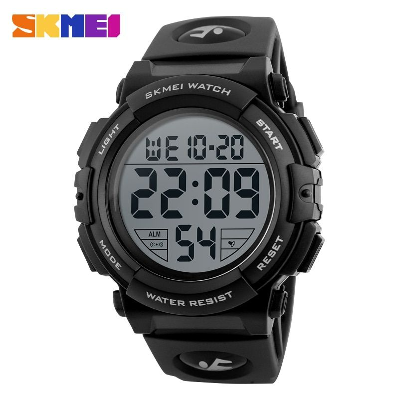 SKMEI New Sports Watches Men Outdoor Fashion Digital Watch Multifunction 50M Waterproof <font><b>Wristwatches</b></font> Man Relogio Masculino 1258