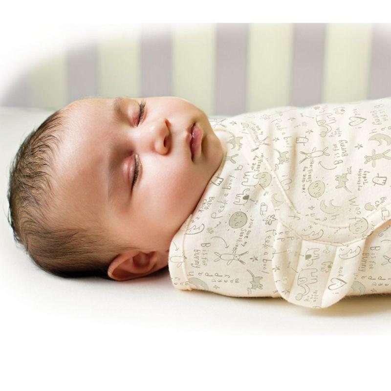 Bebé recién nacido swaddle wrap parisarc 100% de algodón suave para bebés recién nacidos productos para bebés Manta y Swaddling Envuelva Manta Sleepsack